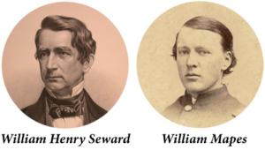 William Henry Seward and William Mapes