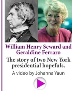 William Henry and Geraldine Ferarro