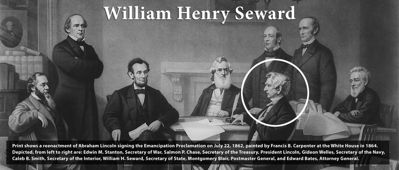Emancipation Proclamation William Seward